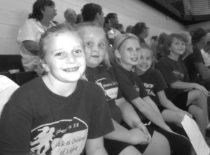 AVA 7th-8th grade basket ball cheerleaders gs