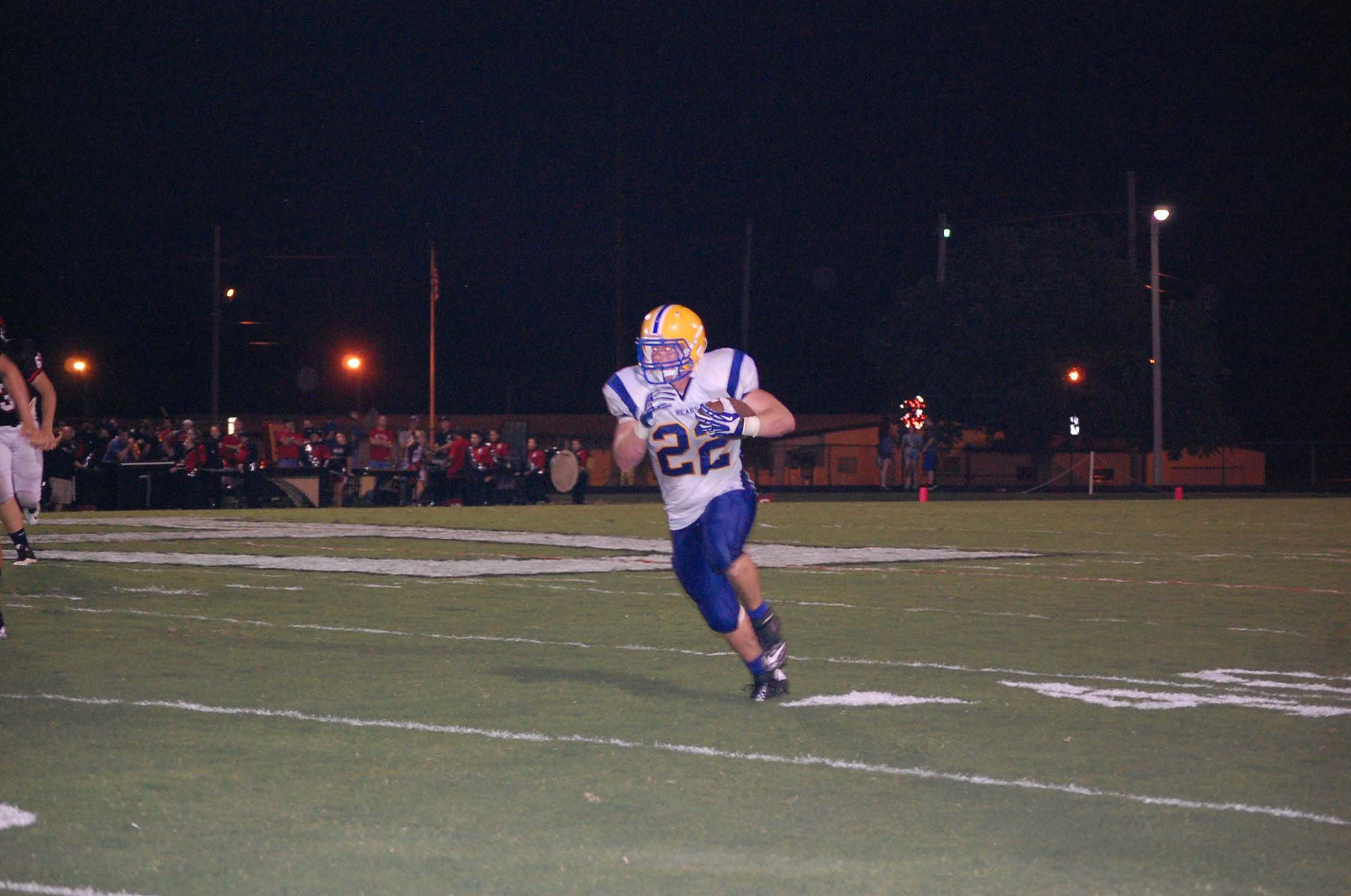 Chase Willis was Ava's leading rusher Friday night with 74 yards on 16 carries.