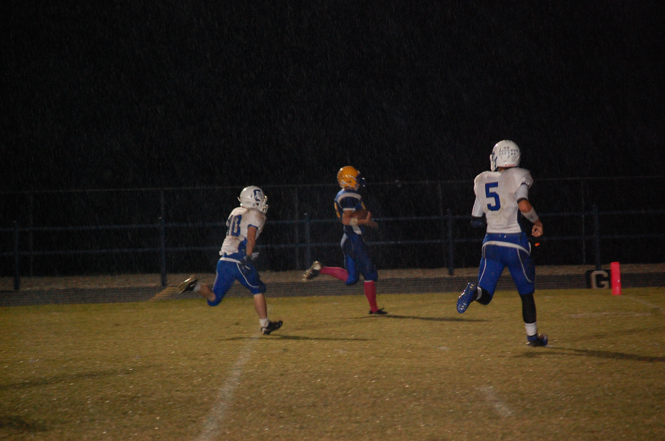 Kane Thompson ran for what appeared to be a 19-yard touchdown Friday night, but the play was brought back for a holding penalty. Ava would score a few minutes later, and went on to beat Cabool 48-6.