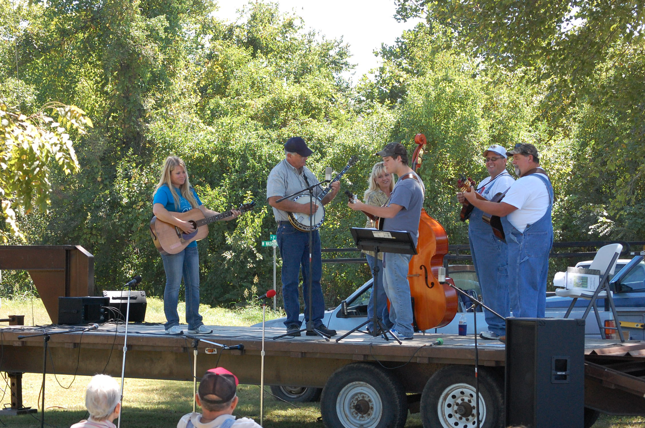 """Bluegrass and gospel music in the park was part of Option Pregnancy Center's """"A Day In the Park"""" program on Saturday, Sept. 14."""