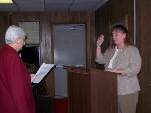 city council Suzanne W oath of office 100_2745