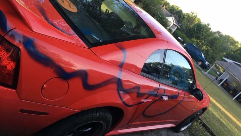 Aug. 6, 2018 Vandalism