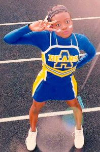 Cleopatra Stafford Is All-American Cheerleader